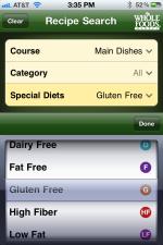 Wholefood mobile app